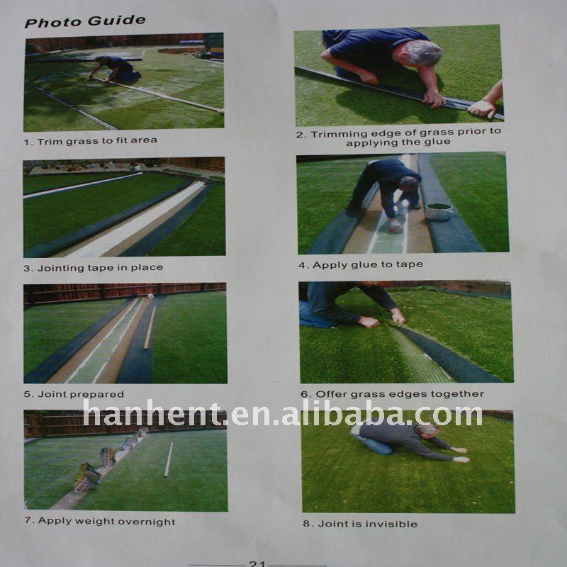 10 мм PA пряжа поле для гольфа artifiical трава
