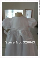 Праздничное платье Real samples High quality Organza baby girl dresses