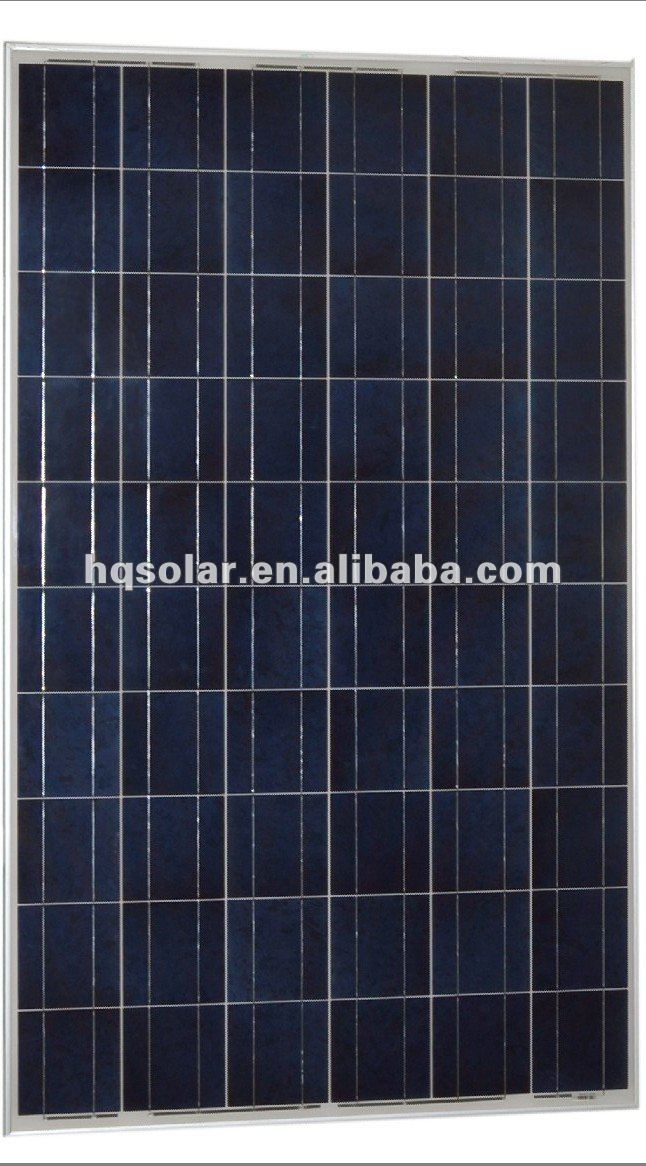 220w polycrystalline solar panel low price with MC4 conector and 900MM cable