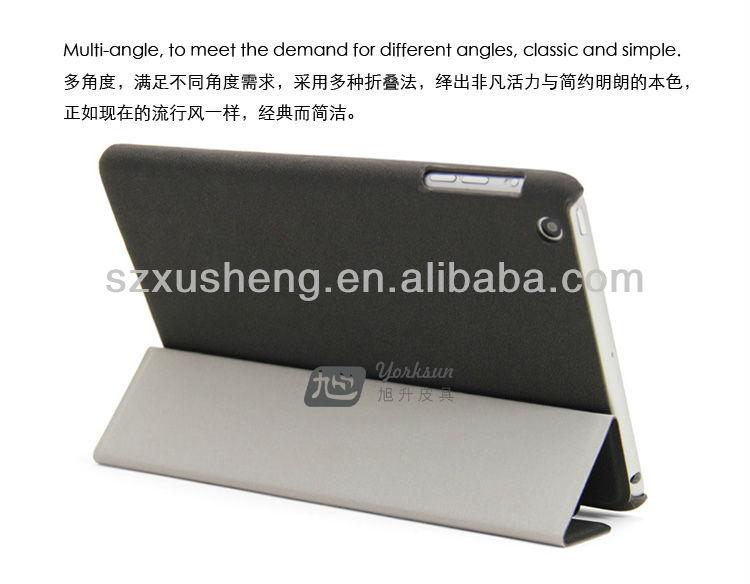 smart leather cover for ipad mini