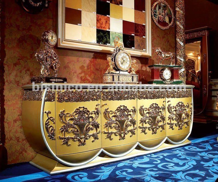 Casa di lusso credenza europeo classico armadio laterale for Piani di casa di lusso europeo