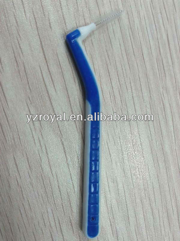 L-type interdental brush