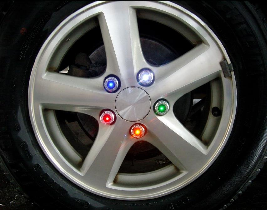 Led Wheel Light & Car Wheel Lamp,Automatic Light Sensor - Buy ...