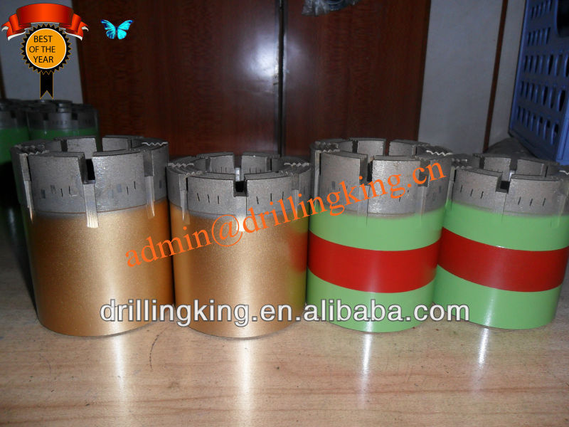 Diamond core drill bit WLN/ WLH/ WLP/ HQTT/ NMLC