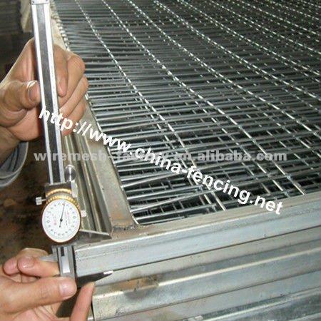 Diseño de la cerca de malla de alambre de hierro (de fábrica ...
