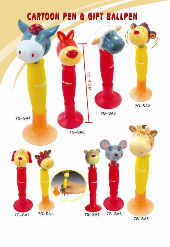 cartoon pen/gift ballpen/cartoon pen for kids