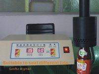 Машина для запечатывания тары Manual sealing machine for high cap