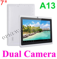 Планшетный ПК A13 Dual Camera Tablet PC A13 Q88 5 WIFI 4 ROM 7 inch A13 Q88 Dual Camera Tablets