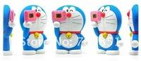 Чехол для для мобильных телефонов 2012 newest 86 hero 3D Doraemon Collection hard case for iphone 4 4G 4s, 10pcs/lot