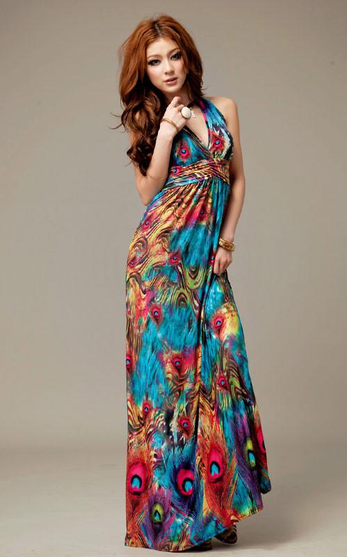 New Arrival Fashion Maxi Dress Sexy V Neck Party Dress Women ...