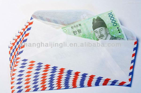 Peal&seal paper gift envelope/recycled paper envelope