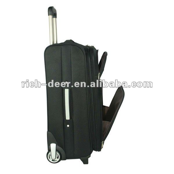 the fashionable trolly travel bag with 3 pcs and best price by factory