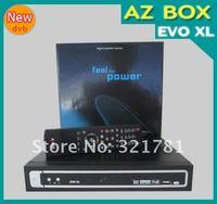 Приемник спутникового телевидения AZBOX evo xl receiver satellite Support USB update dongle South America Hot selling DVB