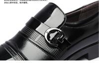 в наличии! Новые мужчины одевают обувь Мужская кожа обувь Оксфорд обувь для мужчин бизнес обувь мужчины, размер: 38-43