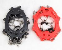 Противоскользящая льда кошки бутсы снег Хапуги 8-зубы силиконовые Бахилы резиновые Боты размер и цвет