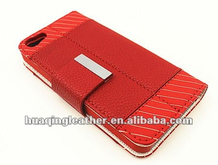 New design leather case for iphone5 iphone5g case 5G apple phone5