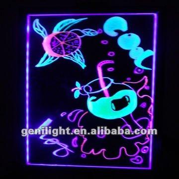 2014 Hot Sale High Quality LED Writing Board