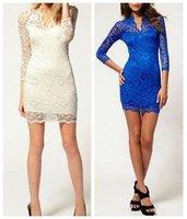 Женское платье ! v/3/4 SLIM FIT BODYCON #0013 WF-0013