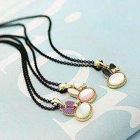 Цепочка с подвеской Cute Bunny Rabbit Shaped Necklace drop of oil N60