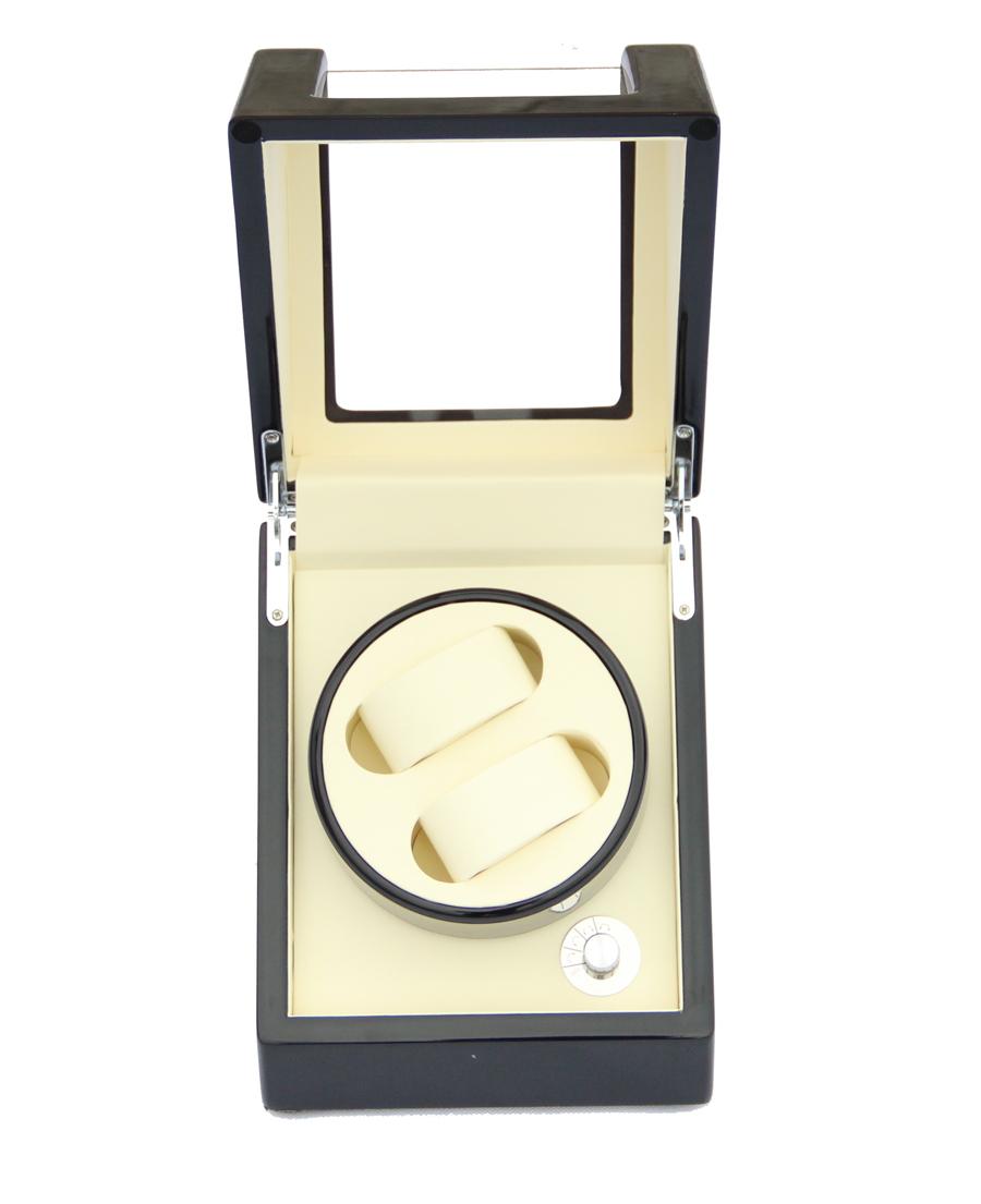 высокое качество фортепиано лак 2 + 0 деревянные часы привода r