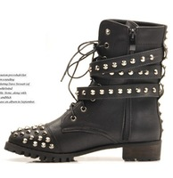 Женские ботинки Jeffrey Campbell Pointed buckle light skin to party with tangerine locomotive boots female