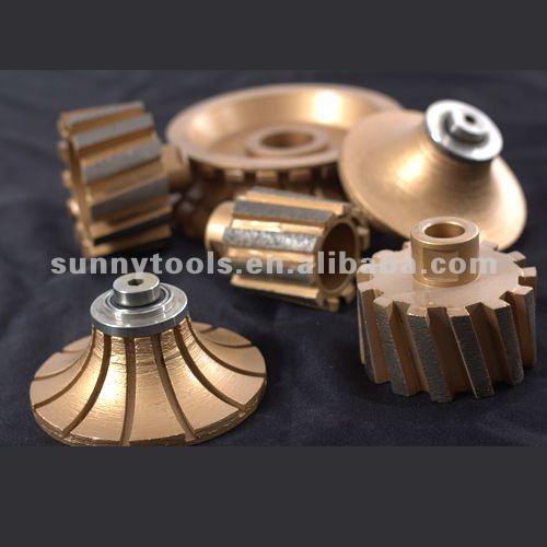 Zero Tolerance Metal Bond Diamond Grinding Drum Wheels