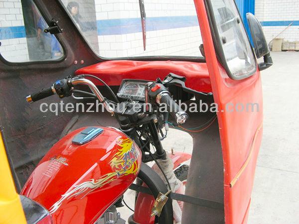 china motocicleta de três rodas