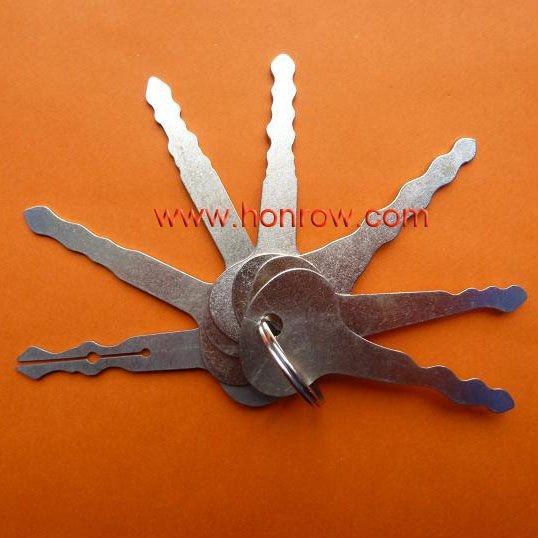 Nuevo 2012 funcional completa llave maestra para abrir la cerradura de ...