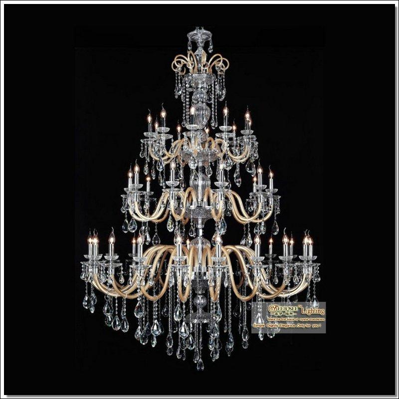 L mpara cristalina moderna decoraci n de la boda bola - Lampara de arana moderna ...