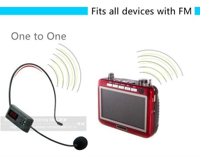 FM Headset Mic 04