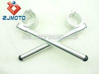Ручка газа для мотоциклов Clip-On 50mm Left and Right Handlebars for 1995-1998 GSXR1100 CNC Removable Handlebar