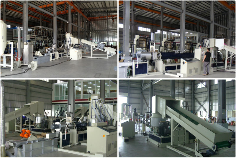 Plastic Recycling Machine (for PE and PP films)