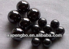 Black Silicon Nitride Ceramic Balls Used In Electric Power, Automobile, Textile, Machinery, Pumps, Medical Equipment