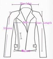 Jacket Leather  Good Quality Free ShippingPU Short Leather Zipper Slanting Ladies' Motocycle Spring Coat Wholesale Retail WP1446