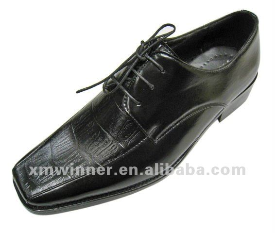 Fashion black gentle men dress shoes