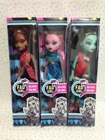 Новый brinquedos monster.high популярные игрушки для девочек 3шт/лот Жуэ monster.high