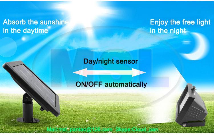 Long Working Time Solar Garden Light