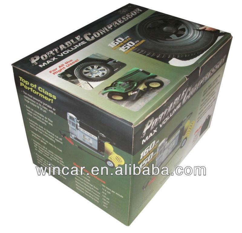 mini air compressor W2026 dc 12v 150PSI Max Pressure