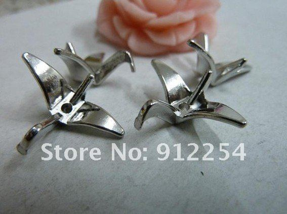 20pcs 8x16x21mm White K Lovely Mini 3D Paper Crane Charm Pendant Spacer B385 1.99.jpg