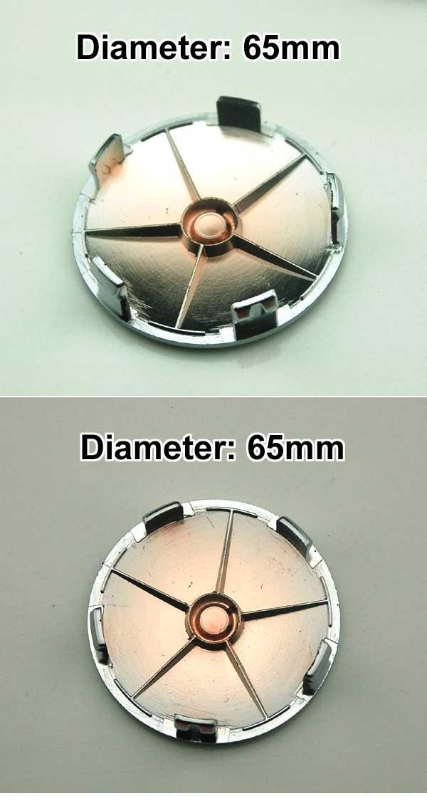 Диски и Аксессуары для авто 4pcs W018 65mm Emblem Badge Wheel Hub Caps Centre Cover OZ RACING Focus 2 Focus 3