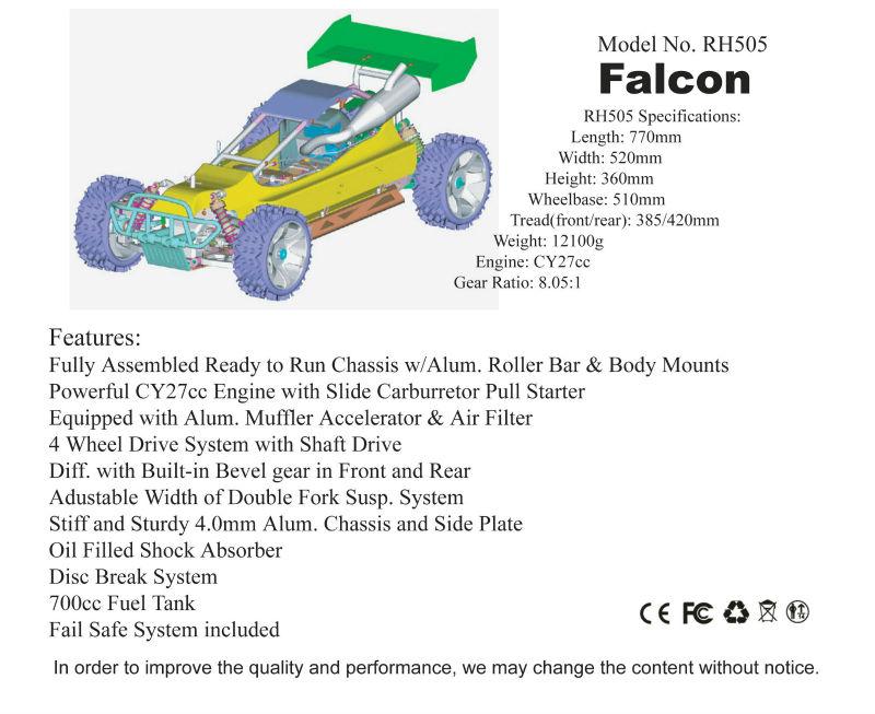 30cc rc gas powered car,RC Baja,2.4G transmitter rc gas car