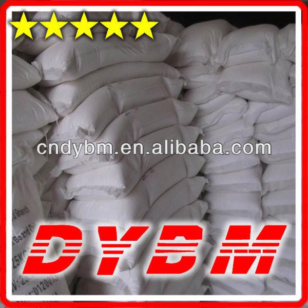 Gypsum binder Modified Corn Starch
