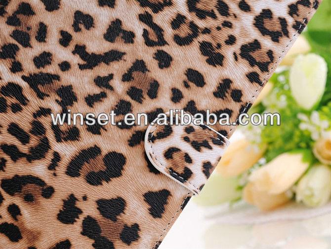 For ipad mini leopard pu leather case,For Apple iPad Mini Leather Case