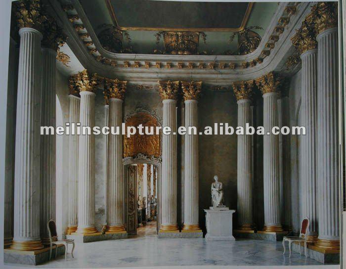 D coration int rieure pilier avec couleurs m lang es pilier id de produit 299 - Habillage colonne beton ...