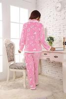 Die neue weibliche geld verärgert korallenvlies пижама anzug многоцветной дер freizeit tragen liebe, Герц пижамы versandkostenfrei