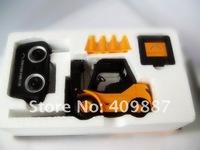 Desktop Crane 2012 new toys Remote Control Cars Remote Control Forklift engineering truck REMOTE CONTROL MINI FORKLIFT