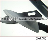 "Кухонный нож YARCH 5"" Black Blade kitchen knives+Scabbard with retail box, bread knife, 1pcs/lot, CE FDA certified"