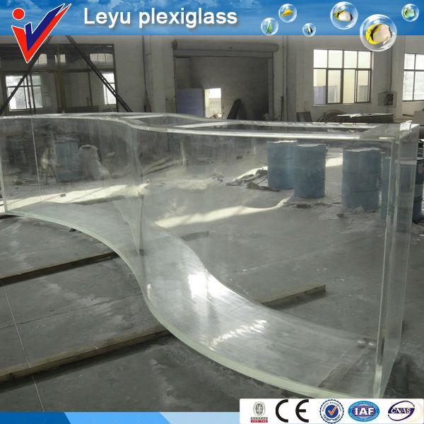 clear flexible acrylic fish tank