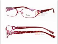 Аксессуар для очков 2013 New hot fashion design metal acetate optical frame women eye glasses frame D9086