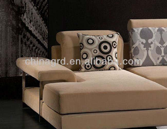 Nouveau modèle 2014 canapé en tissu à partir de foshan meubles dorés( em- 857)